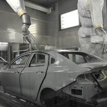 新力光汽車噴涂機器人